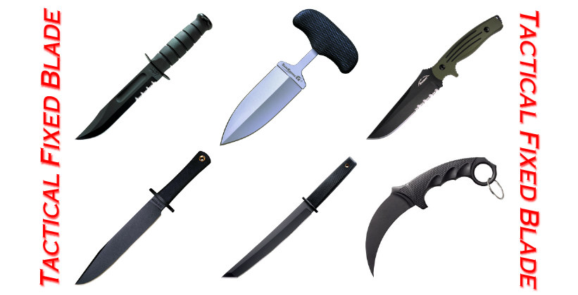 Tactical Fixed Blades
